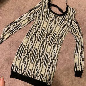 MINKPINK Low back Sweater Dress